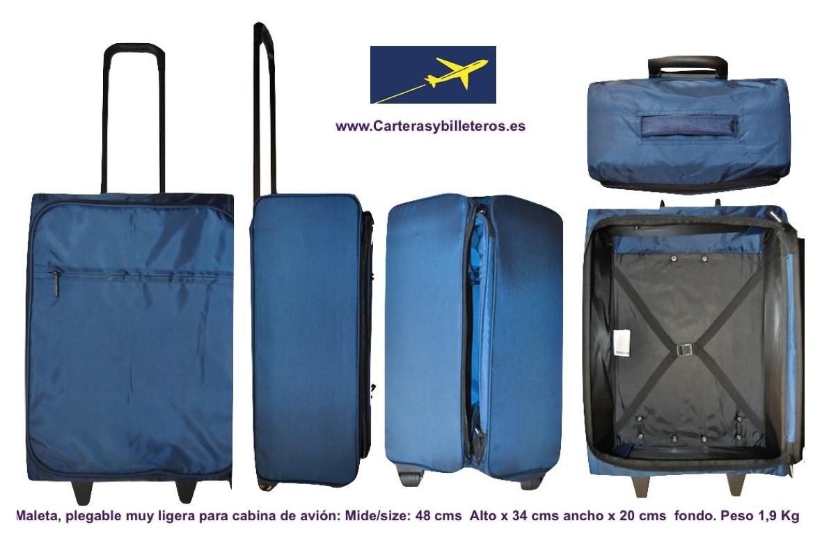 Maleta cabina avion con ruedas - Medidas maletas cabina vueling ...