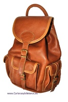 PONY SAC EN CUIR ARTISANALE GRAND