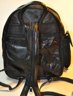 BACKPACK THREE POCKETS LEATHER MEDIUM b9d937ce5a654