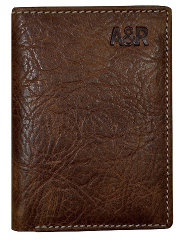 CARD HOLDER OF MAN IN SKIN BISONTE OF QUALITY LEATHER