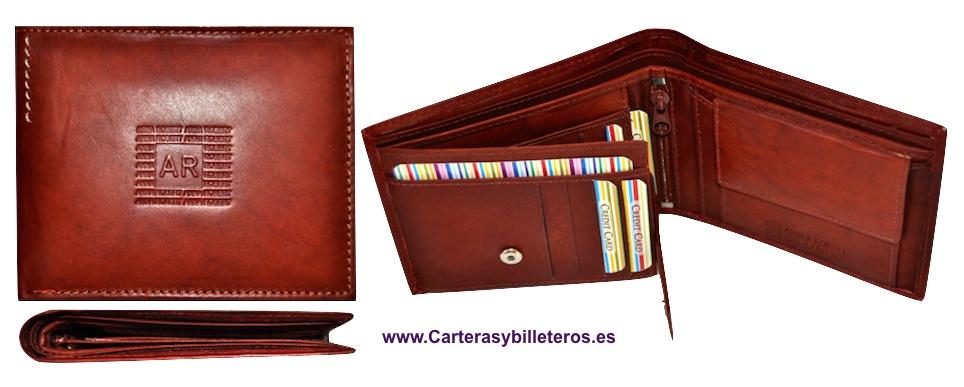 CARTERA BILLETERO DE PIEL LEGITIMA GRAND CALDERA