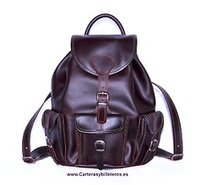 BACKPACKS IN LEATHER