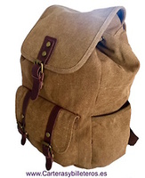 CANVAS AND NYLON BACKPACKS