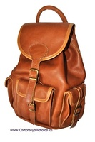 LEATHER BACKPACK BRAND CUBILO
