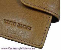 WALLETS MAN TITTO BLUNI LEATHER COLLECTION TRAVIATA