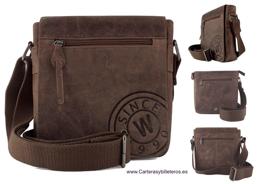 BAG MAN MARK WILDZONE OILED LEATHER