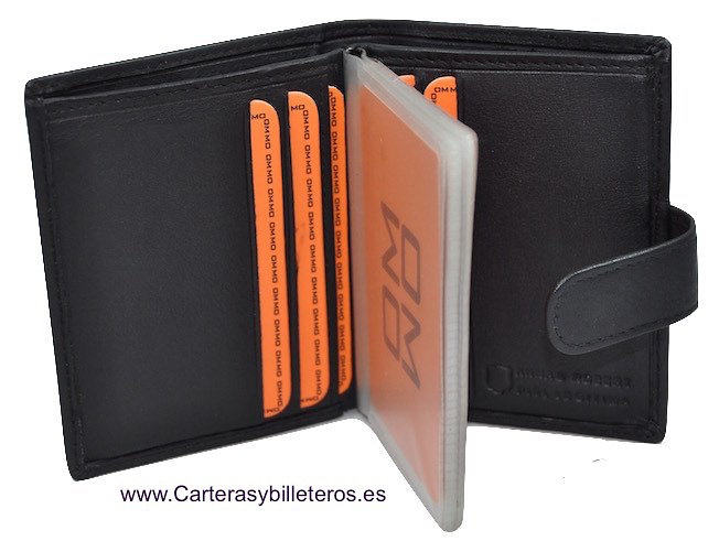 Business card holder leather napa high range with wallet lux colourmoves
