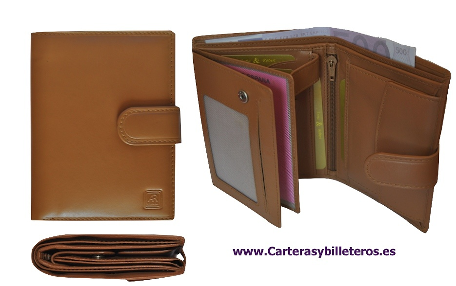 CARTERA BILLETERA DE PIEL LUXURY DE ALTA GAMA