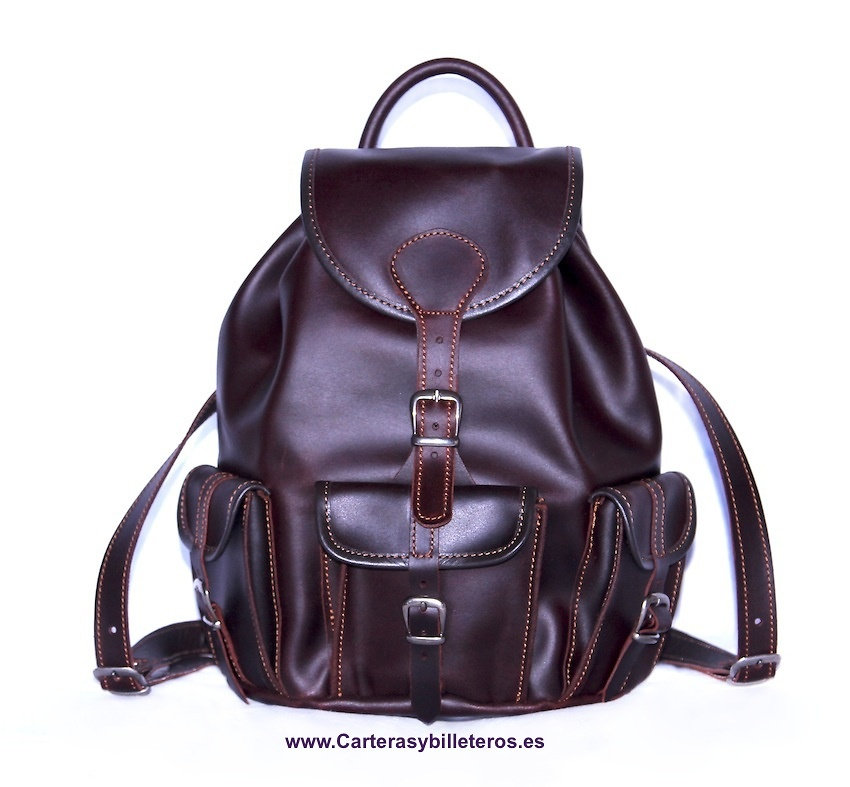 COW LEATHER BACKPACK MEDIUM SIZE