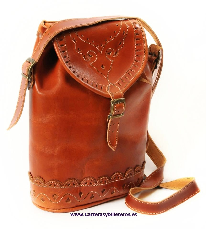 Duffel High Quality Leather Bag