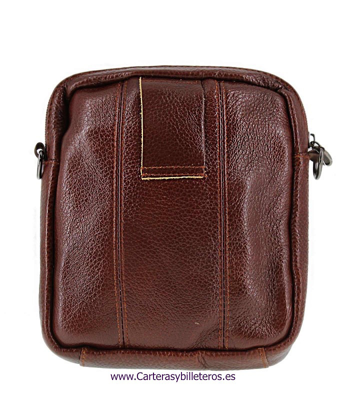 HANDBAG FOR MEN WITH LEATHER WITH SHOULDER AND WAIST