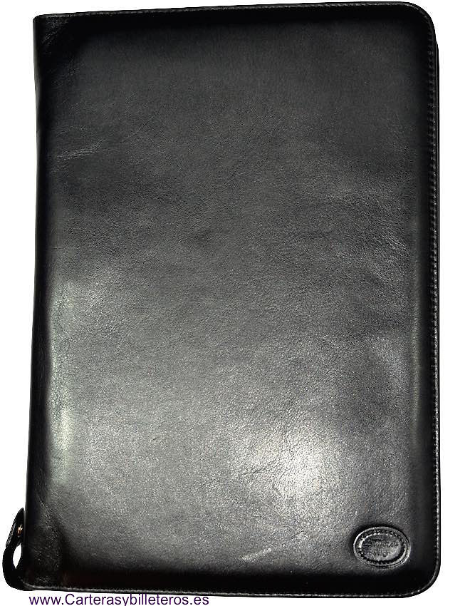 LARGE LEATHER AGENDA MADE IN UBRIQUE SPAIN