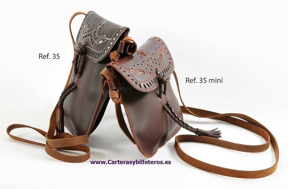 LEATHER BAG CRAFT AVAILABLE IN TWO SIZES