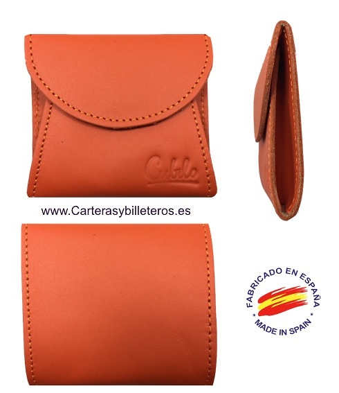 LEATHER PURSE WITH BELLOWS COLORS