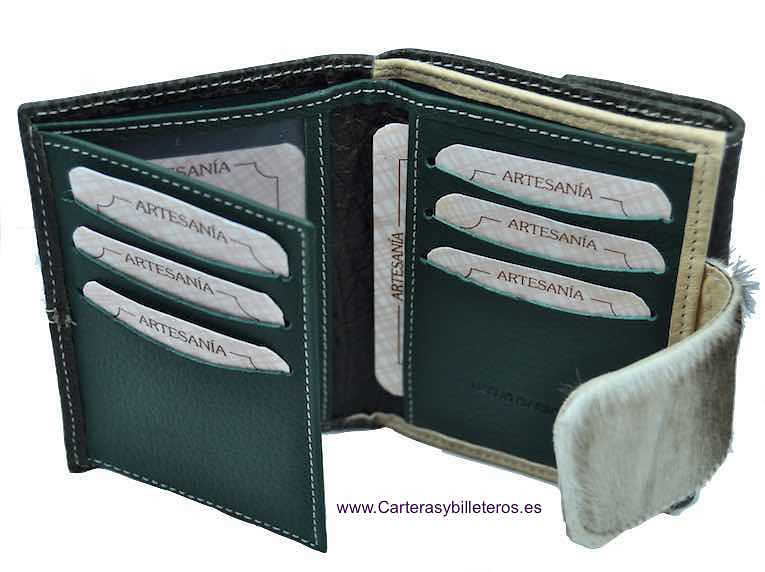 LITTLE WOMEN'S WALLET OF LUXURY SKIN COMPLETE AND GREAT QUALITY