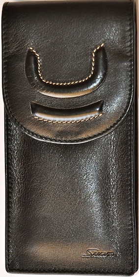 Luxury High Quality Made Leather Sleeve In The Suam Mark