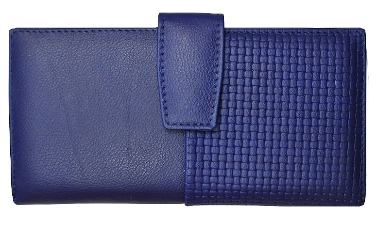 NAPA LEATHER WOMAN WALLET BIG CARD - 5 colors-