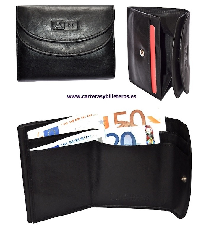 PURSE OF LEATHER WITH BILLFOLD DOUBLE GRANDE