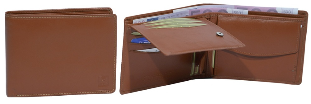 WALLET IN LEATHER LUXURY HIGH QUALITY WITH WALLET
