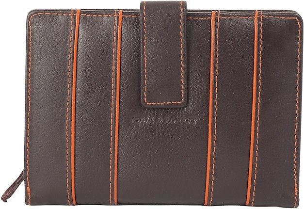 WALLET IN LEATHER OF QUALITY FOR WOMEN WITH PURSE