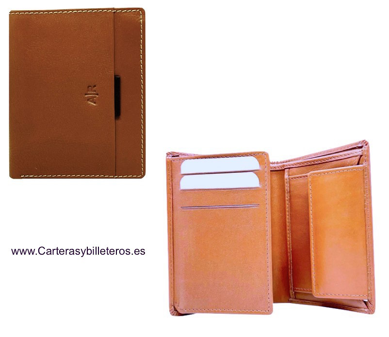 WALLET MEN'S LEATHER WITH PURSE SUMUM BRAND AR
