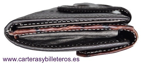 WALLET OF WOMAN SKIN OF COCO MADE IN SPAIN HANDCRAFT