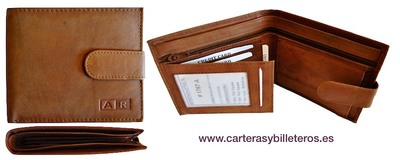 WALLET PORTFOLIO AND BILLFOLD FOR MENS SKIN WITH WALLET