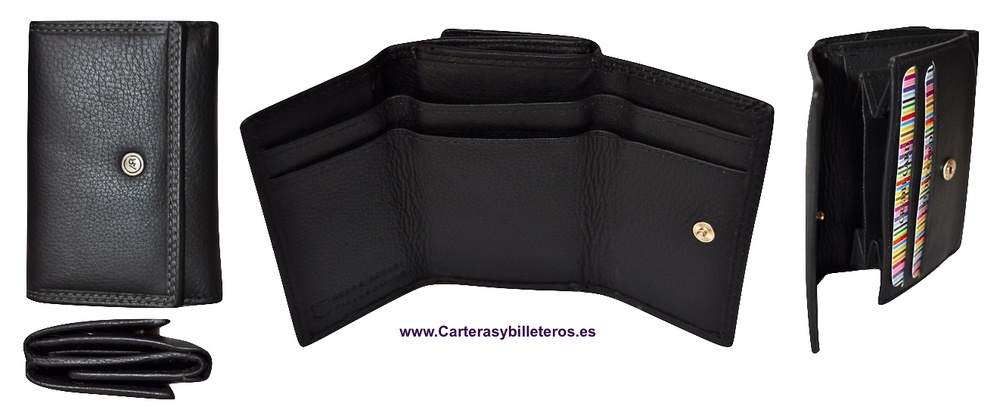 WALLET PURSE MADE IN LUXURY LEATHER