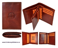 A CARD WALLET MADE OF HIGH END PREMIUM LEATHER DOUBLE BILL