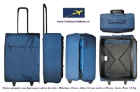 AIRPLANE CABIN SUITCASE WITH WHEELS