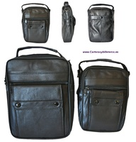 BAG OF SKIN FOR MEN VERSATILE WITH HANDLE AND SHOULDER STRAP MEDIUM