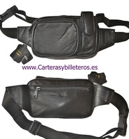 BAG TO CARRY TO THE WAIST OF SKIN. MULTI-POCKET FOR MOBILE PHONE.