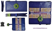 BIG WOMEN CARD PORTFOLIO AND WALLET  QUALITY LEATHER