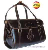 BORSA IN PELLE LUSSO A MANO  MADE IN SPAGNA