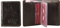 BUSINESS CARD HOLDER AND SKIN TYPE LEATHER BRAND DUTH BILLFOLD