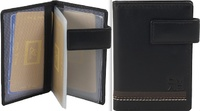 BUSINESS CARD HOLDER LEATHER LUXE OMMO BRAND