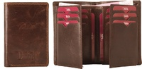BUSINESS CARD HOLDER WALLET IN LEATHER OF THE BRAND DUTH LEATHER