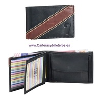 CARD WALLET SMALL LEATHER PURSE