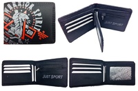 CARTERA HOMBRE MARCA WARRIOR SPIRIT  CON MONEDERO