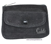 CREDIT CARD COIN PURSE LEATHER