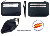 CUBILO BRAND EXTRA-FINE LEATHER PURSE CARD HOLDER