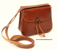 HANDMADE LEATHER HANDBAG MADE