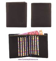 HIGH QUALITY NAPPA LEATHER WALLET HOLDER