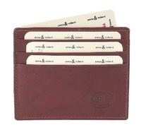 HOLDER ATTACHÉ OF LEATHER SIMPLE EXTRA-FINE