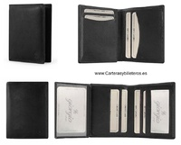 HOLDER WALLET OF LEATHER AUTHENTIC