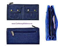 JEANS CARD WALLET LONG
