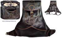 LEATHER BACKPACK HANDMADE