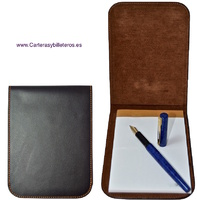 LEATHER NOTEPAD MADE IN UBRIQUE