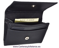 LEATHER PURSE AND CARD MADE IN  SPAIN HANDCRAFT