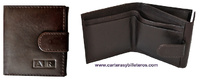 LEATHER WALLET AND PURSE  SMALL
